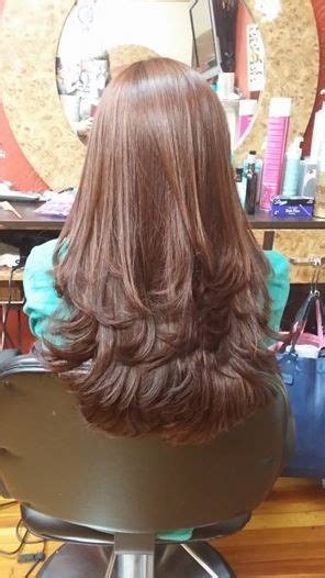 long layers   hair   thick