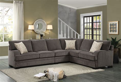 chenille sectional sofas magnitude 5 sectional in
