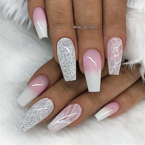 repost marble effect french fade  glitter