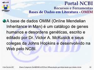 Treinamento Portal NCBI