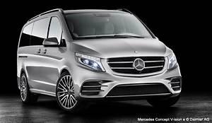 Mercedes Monospace : mercedes concept v ision e un monospace hybride rechargeable ~ Gottalentnigeria.com Avis de Voitures