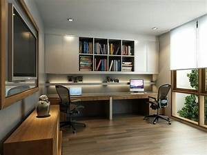 while furnishing apartment or house many neglect such an With home office study design ideas