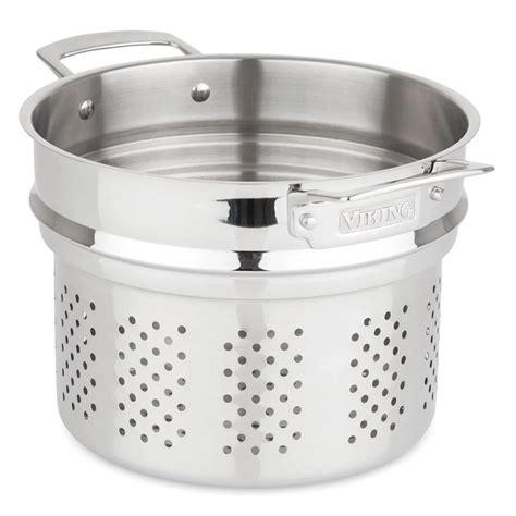 viking  piece tri ply stainless steel cookware set ebay