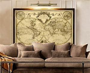 K L Wall Art : l 39 isle 39 s 1720 old world map historic map antique style ~ Buech-reservation.com Haus und Dekorationen