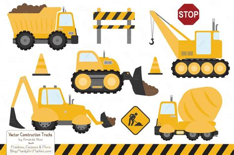 Construction Clip Construction Equipment Clipart Clipground
