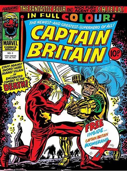 Captain Britain Marvel Vol 1976 Comic Wikia