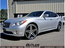 Infiniti M37 with 22in Lexani RFive Wheels exclusively
