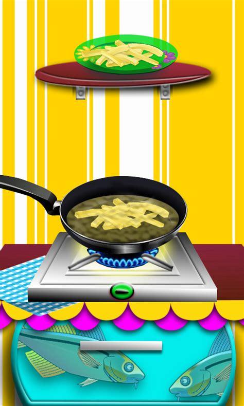 chips de friture de poissons maker jeux de cuisine pour les filles enfants fr