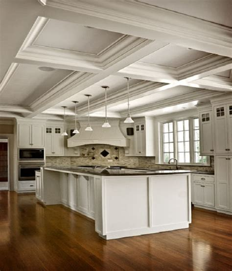 kitchen ceilings designs the and advantages of coffered ceilings in home design 3332