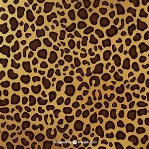 Leopard Print Pattern Vector | Free Download