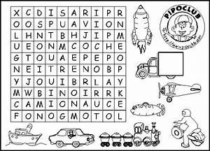 Sopa de letras niños imprimir Imagui