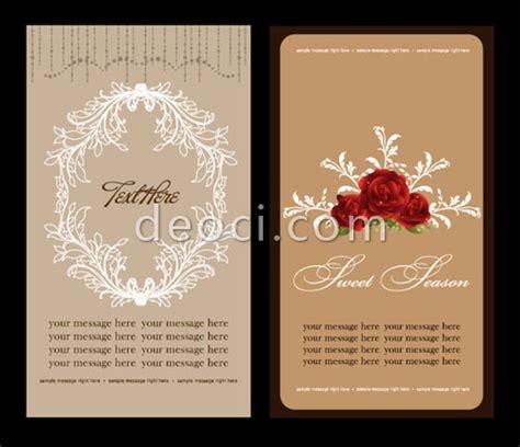 Unique Wedding Invitation Card Design Template Free
