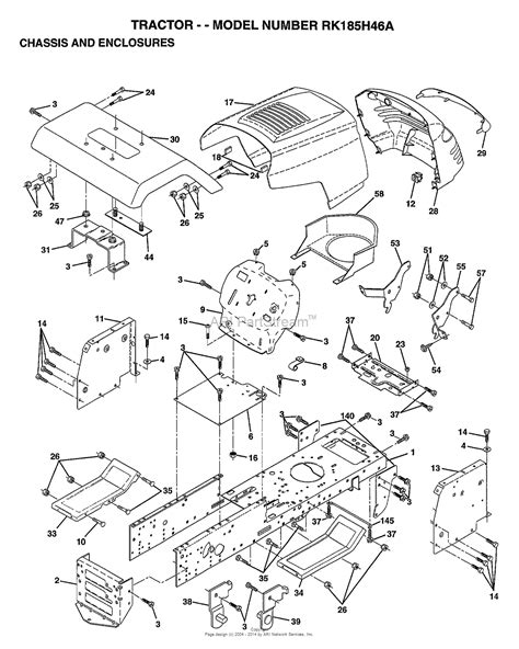 Ayp Electrolux Rkha Parts Diagram For Chassis
