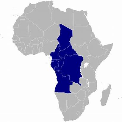 Africa Central Centrale Wikipedia Equatoriale African Afrika