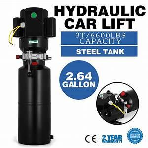 220v Car Lifting Hydraulic Power Pack 12vdc Lift Gates
