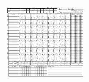 image gallery softball score With softball scorecard template