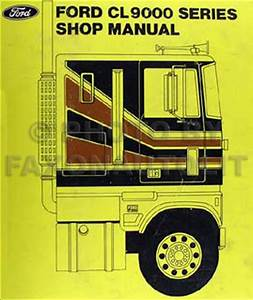 1979 Ford Medium And Heavy Truck Service Specs Manual Original