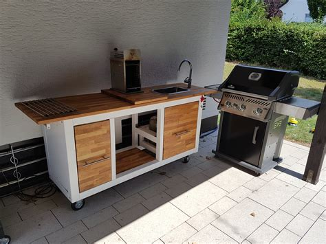 Küchenwagen Outdoor Ikea by Outdoor K 252 Chenwagen Eigenbau F 252 R Beefer Kochen Usw