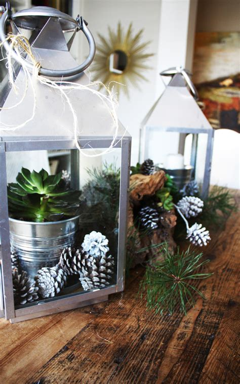 nature inspired holiday decorating countdown  christmas