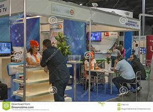 Shopping TV Channel Booth Editorial Photo - Image: 37857131