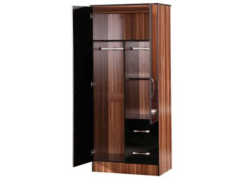 2 Door Bedroom Wardrobes by Top 30 Of 2 Door Wardrobe With Drawers And Shelves