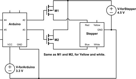 How Connect Stepper Motor With Exactly Wires