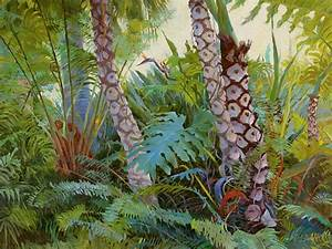 Tropical Underwood Painting by Judith Barath