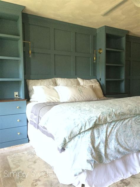 Bedroom Furniture Ideas Diy by Diy Master Bedroom Built Ins Hometalk
