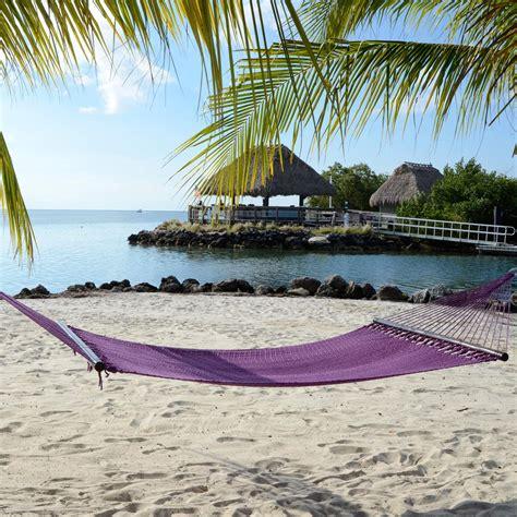 Purple Hammock by Large Plum Purple Soft Spun Polyester Caribbean Hammock