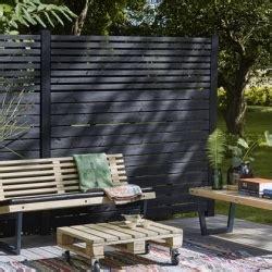 panneau brise vue bois panneau brise vue en bois et claustra pour le jardin ou terrasse