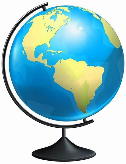 Globe Transparent Clipart Clip Background Geography Earth