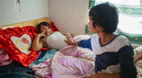 Anak Smp Banyak Yang Hamil Foto Foto Ini Kuak Pernikahan Dini Bocah 39 Bau Kencur 39 Di