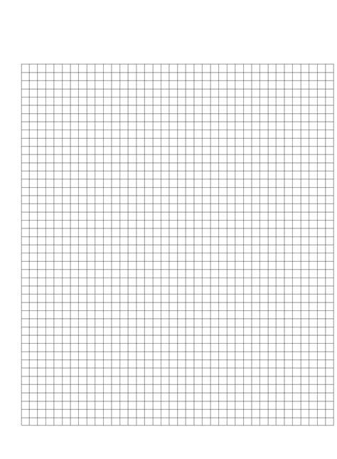 centimeter graph paper template