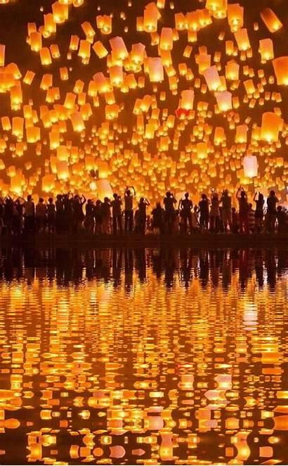 Thailand Festival Travel Places Lights Uploaded User