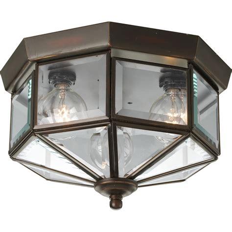 outdoor flush mount ceiling light fixtures progress lighting p5788 20 beveled glass outdoor flush