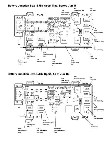 2002 Ford Ranger V6 Fuse Diagram by Ford Workshop Manuals Gt Explorer Sport Trac 2wd V6 245 4