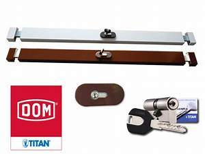 Barre De Porte D Entrée : barre de s curit horizontal pour porte dom titan protechome ~ Premium-room.com Idées de Décoration