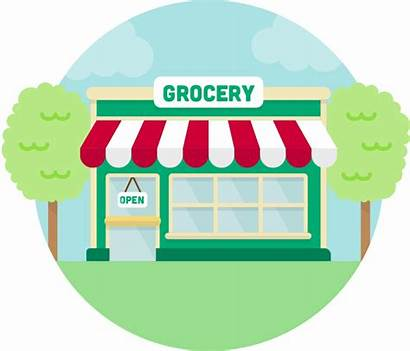 Grocery Clipart Shopping Drawing Transparent Getdrawings Webstockreview