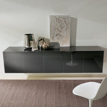 Glass Sideboards For Dining Room by Bontempi Casa Aly Glass Sideboard
