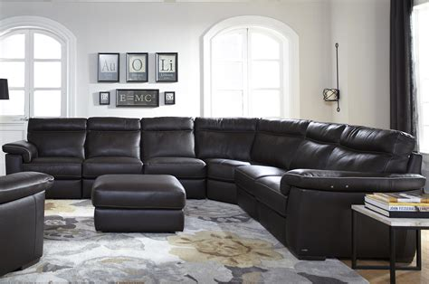 natuzzi editions   piece power reclining sectional