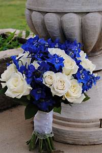 Wedding Bouquets on Pinterest | Blue Delphinium ...
