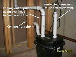 How To Install A Sink Pump Up In Your Basement
