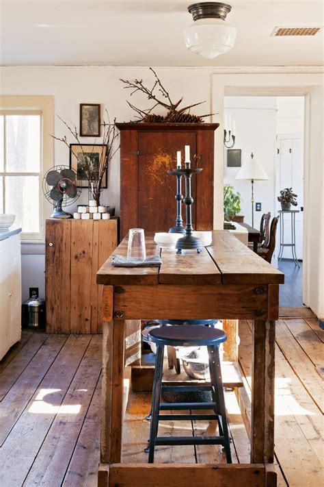 island kitchen table the island adding rustic to charm to your kitchen
