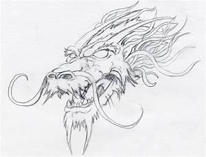 Dragon head | Dragon head drawing, Sketches, Dragon head ...