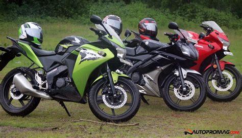 Yamaha Cbr by Yamaha R15 V2 Vs Honda Cbr 150r The Ultimate Review