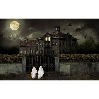 Halloween Scary House WallpapersHD Wallpapers