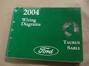 2004 Ford Taurus Sable Workshop Service Manual Wiring