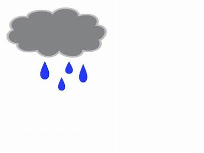 Rain Rainy Cloud Animated Clouds Cartoon Weather