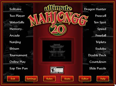 Ultimate Mahjongg 20 - Buy and download on GamersGate
