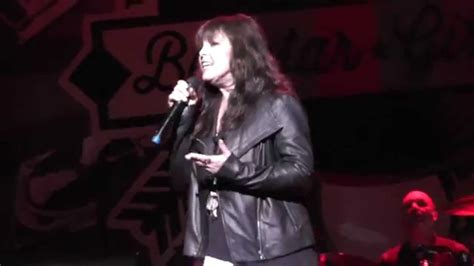pat benatar quot promises in the quot live april 29 2015 the egg albany ny